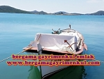 İzmir dikili çandarlı bimeyko satılık villa imarlı ful deniz manzaralı