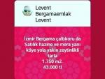 İzmir bergama tavukçukuru satılık asfalta o tarla bahçe 6.500 m2.