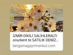 İzmir Bergama öğretmenevi çivarı satılık merkezi sistem pay ölçerli