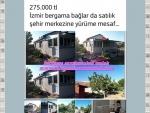İzmir bergama zeytindağ satılık tamirat gerektiren köy evi 2+1 100 m2