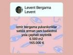 İzmir bergama eğrigöl Çanakkale asfaltı üzeri satılık mera yanı tarla